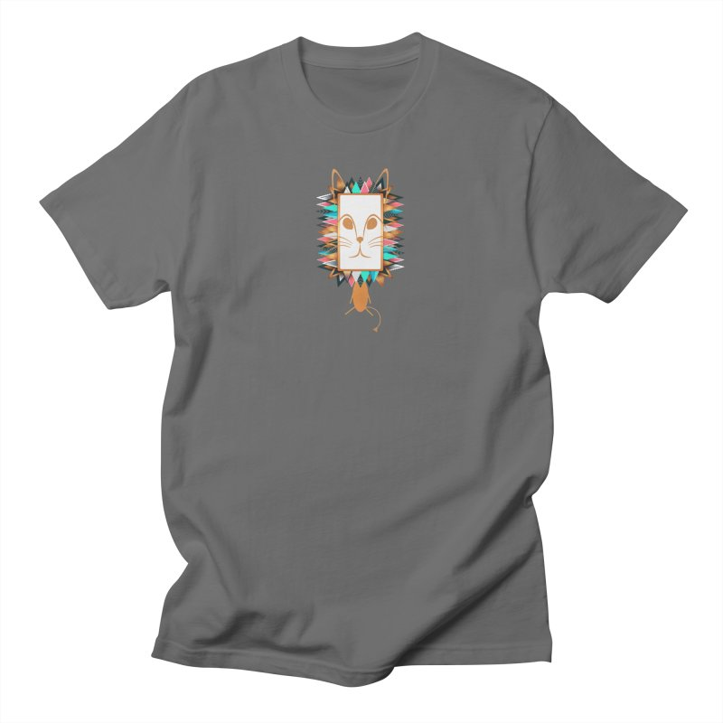 Squeak the Lion Men's T-Shirt by Avadel Designs