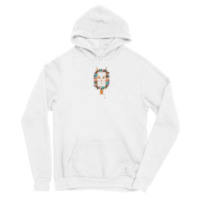 Squeak the Lion Women's Pullover Hoody by Avadel Designs