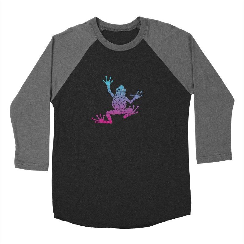 Spots the Frog (neon) Women's Longsleeve T-Shirt by Avadel Designs