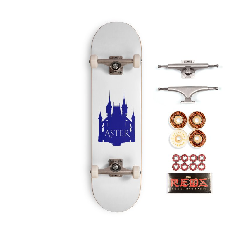 Aster's Castle Accessories Skateboard by Avadel Designs
