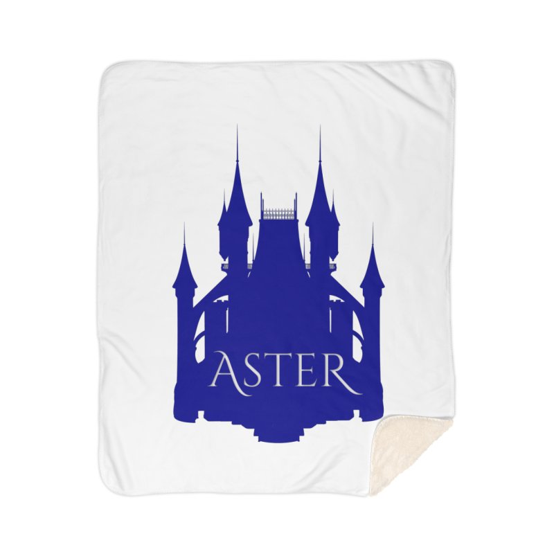 Aster's Castle Home Blanket by Avadel Designs