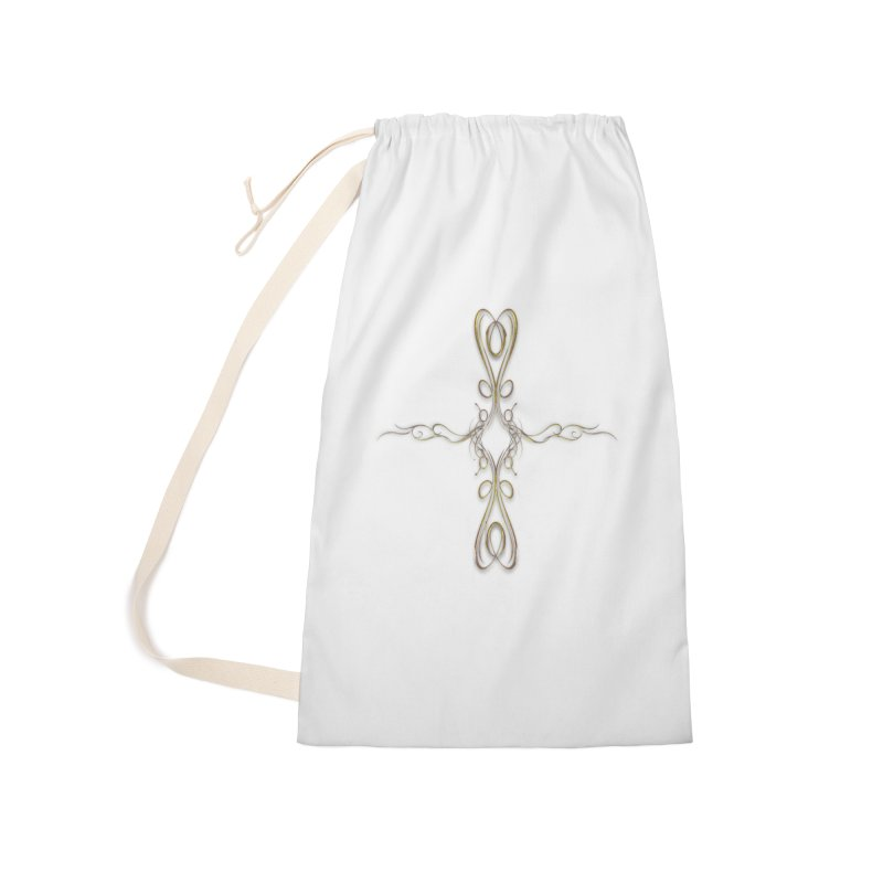 Golden Cross Accessories Bag by Avadel Designs