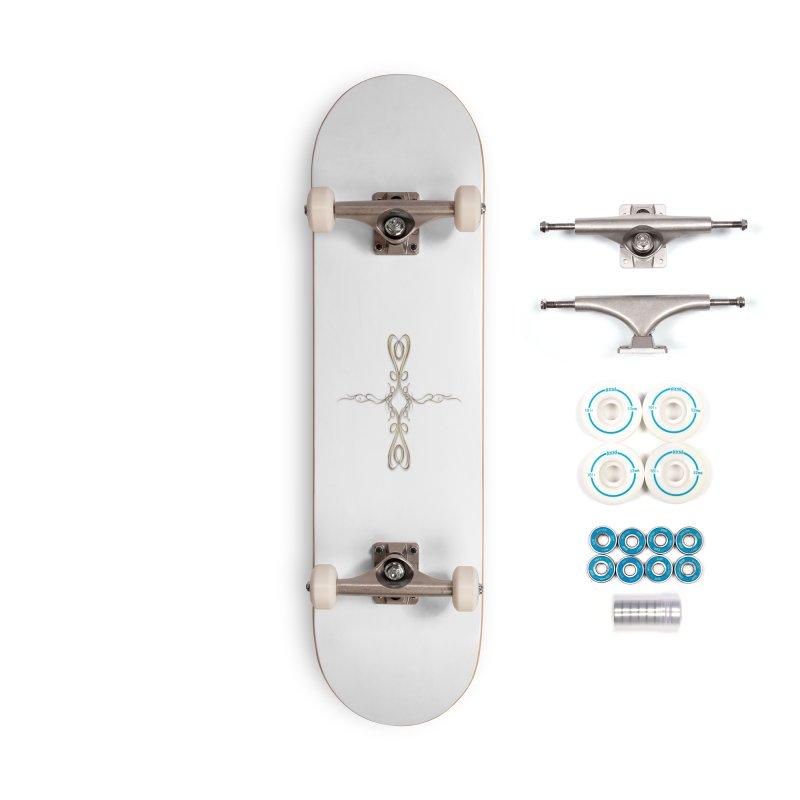 Golden Cross Accessories Skateboard by Avadel Designs