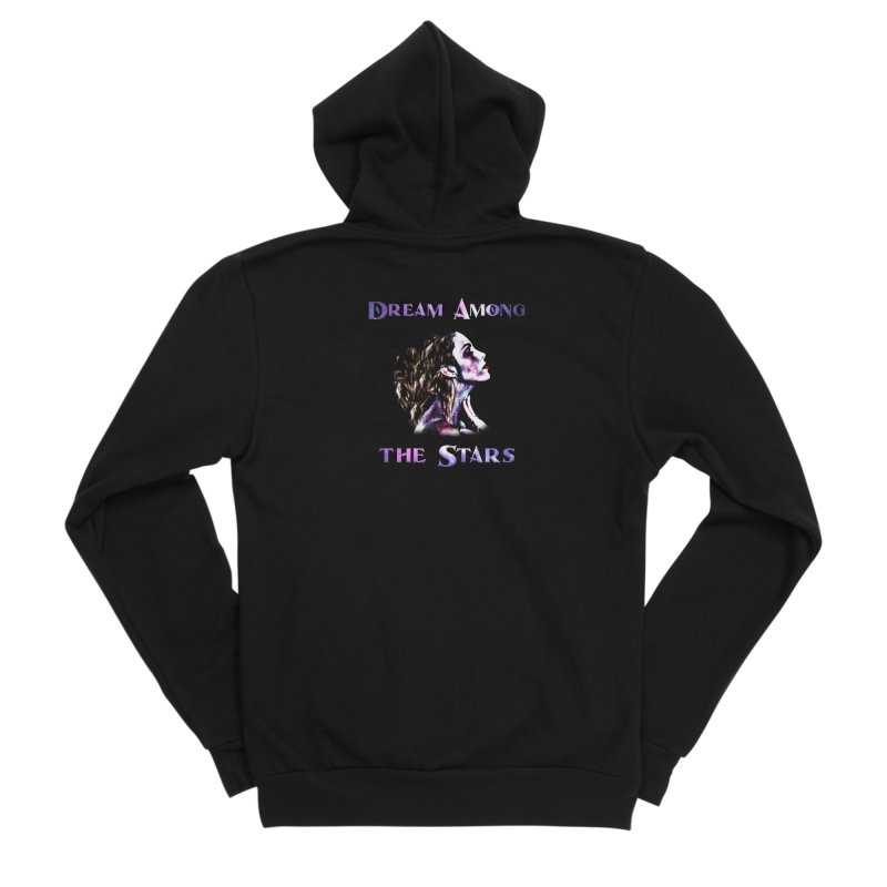 Dream Among the Stars Women's Zip-Up Hoody by Avadel Designs