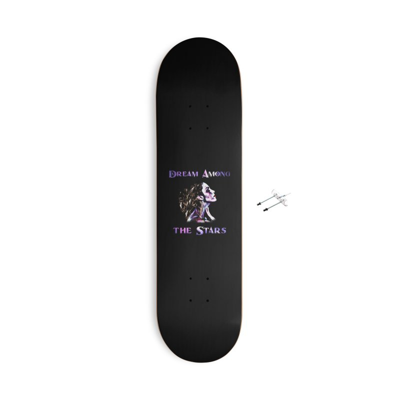 Dream Among the Stars Accessories Skateboard by Avadel Designs