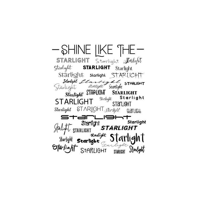 Shine Like the Starlight Accessories Bag by Avadel Designs