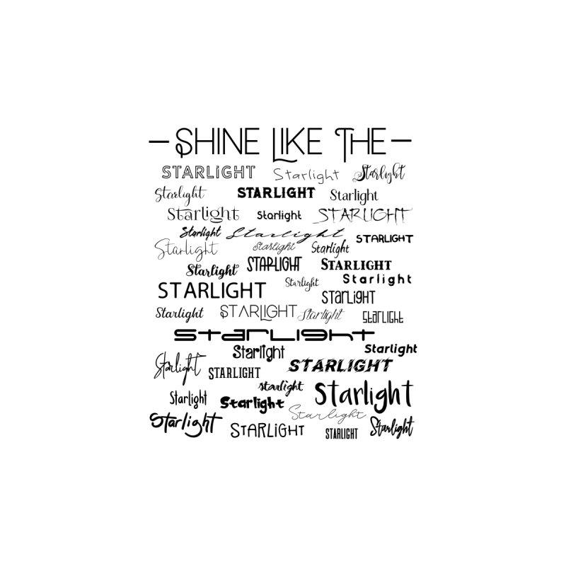 Shine Like the Starlight Women's T-Shirt by Avadel Designs