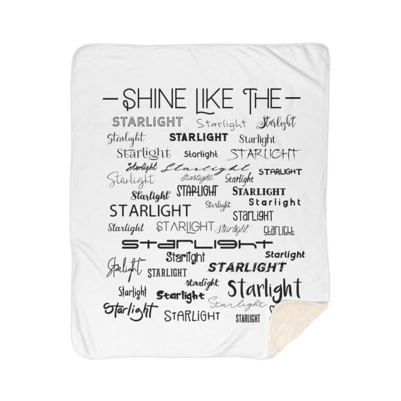 Shine Like the Starlight Home Blanket by Avadel Designs