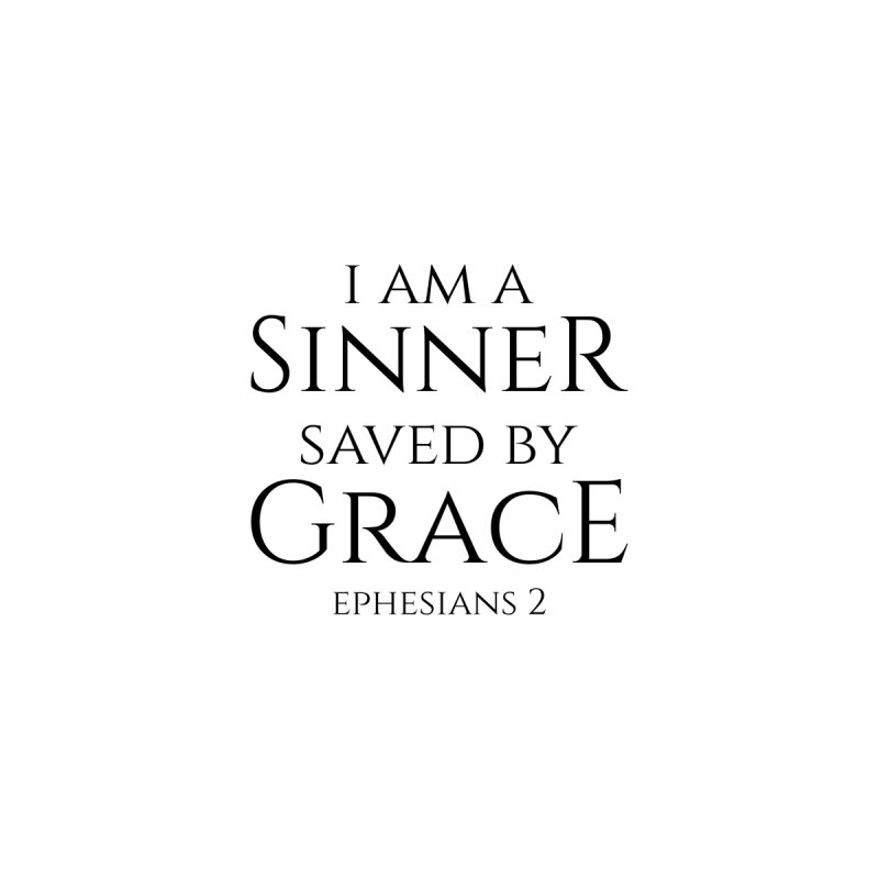 Sinner Saved by Grace Accessories Bag by Avadel Designs