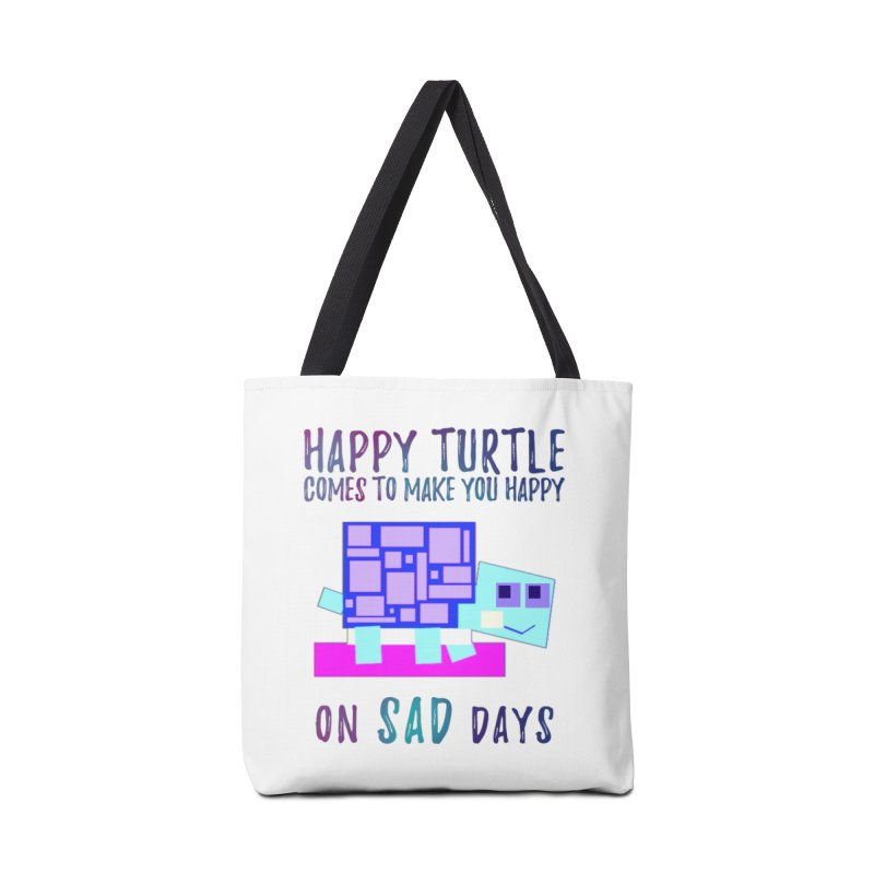 Happy Turtle Accessories Bag by Avadel Designs
