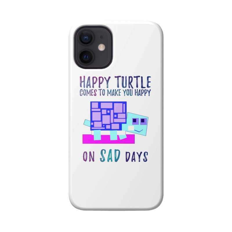 Happy Turtle Accessories Phone Case by Avadel Designs