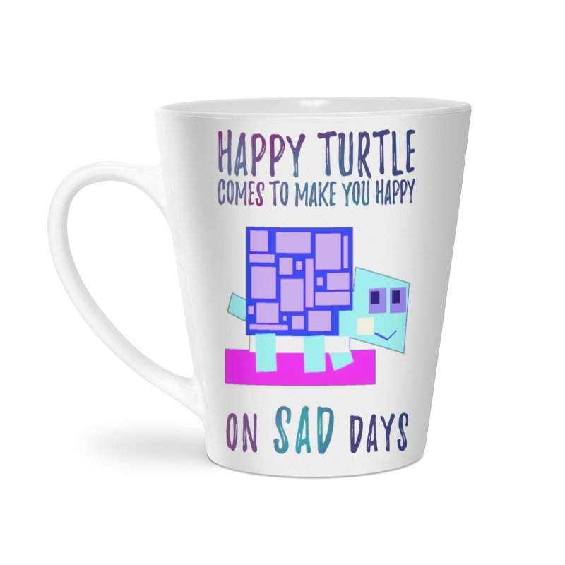 Happy Turtle Accessories Mug by Avadel Designs