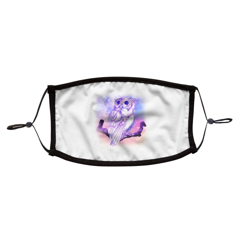 Daydream Owl Accessories Face Mask by Avadel Designs