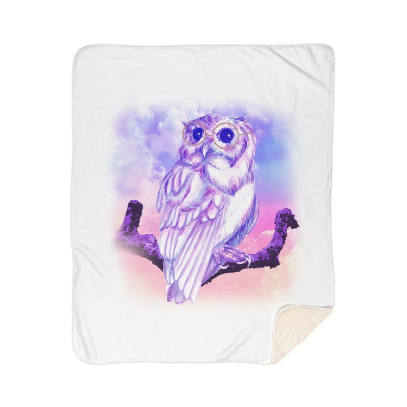 Daydream Owl Home Blanket by Avadel Designs