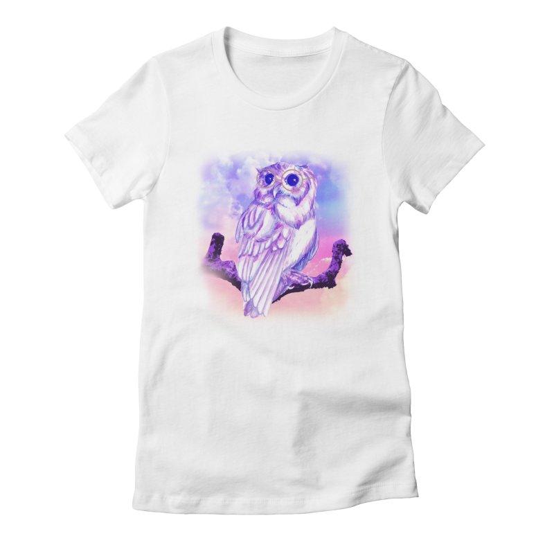 Daydream Owl Women's T-Shirt by Avadel Designs
