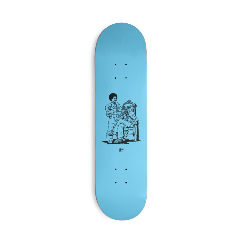 Aquemini Accessories Deck Only Skateboard by Avery is Hungry