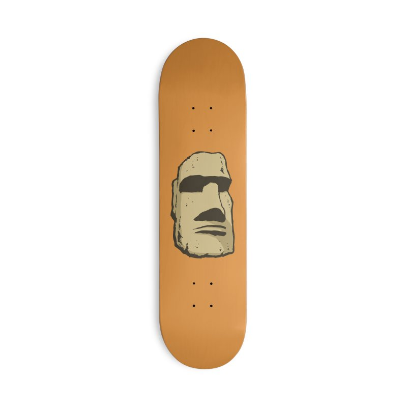 Easter Island Accessories Deck Only Skateboard by Avery is Hungry