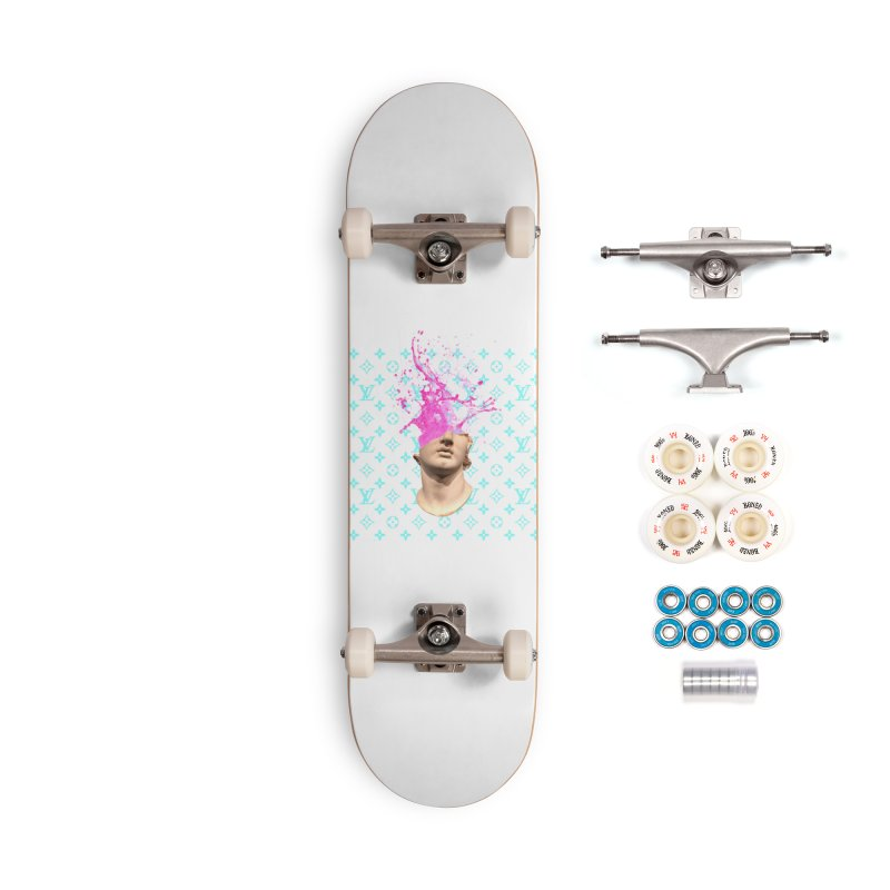 Big Head Accessories Complete - Premium Skateboard by Avery is Hungry