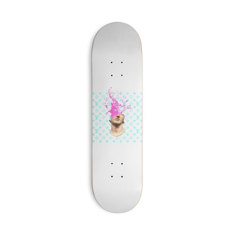 Big Head Accessories Deck Only Skateboard by Avery is Hungry