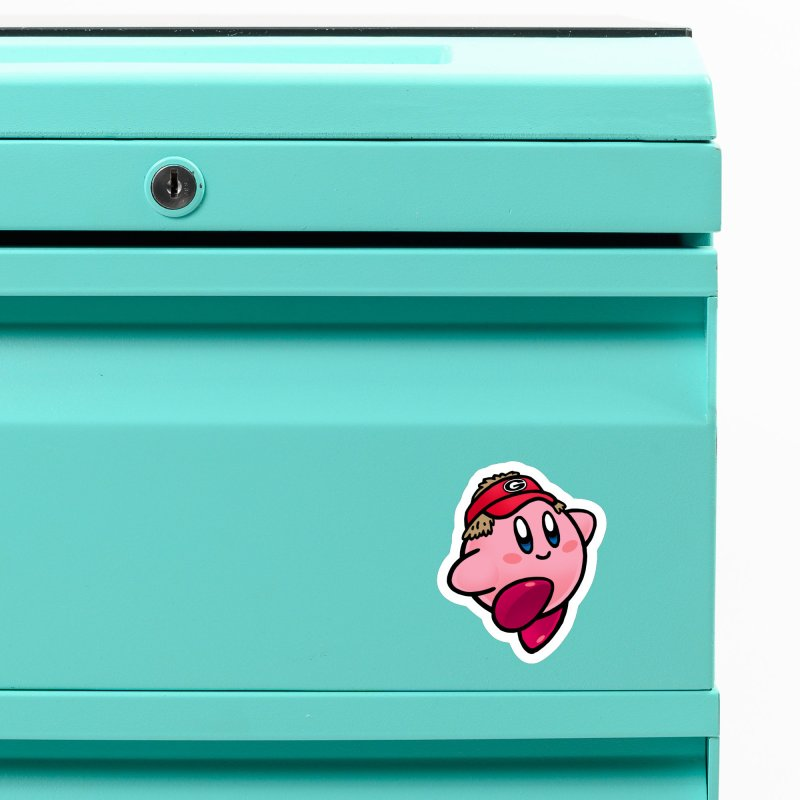 Kirby Swag Accessories Magnet by Avery is Hungry
