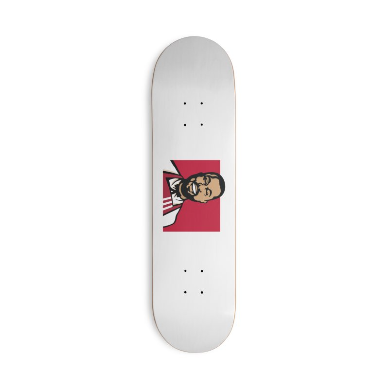 KFCeezus Accessories Deck Only Skateboard by Avery is Hungry