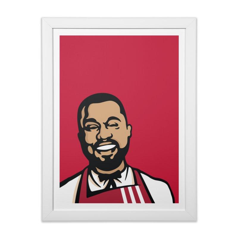 KFCeezus Art Print Home Framed Fine Art Print by Avery is Hungry