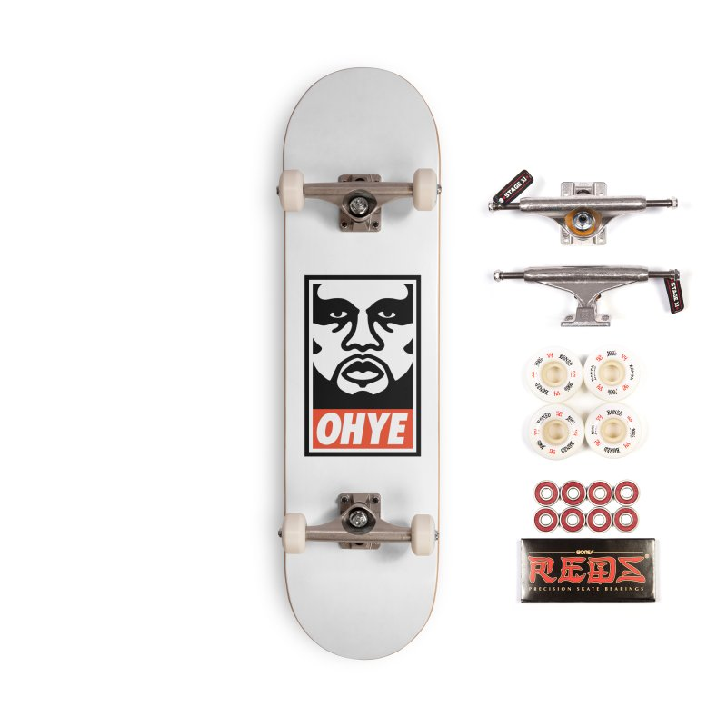 OHYE Accessories Complete - Pro Skateboard by Avery is Hungry