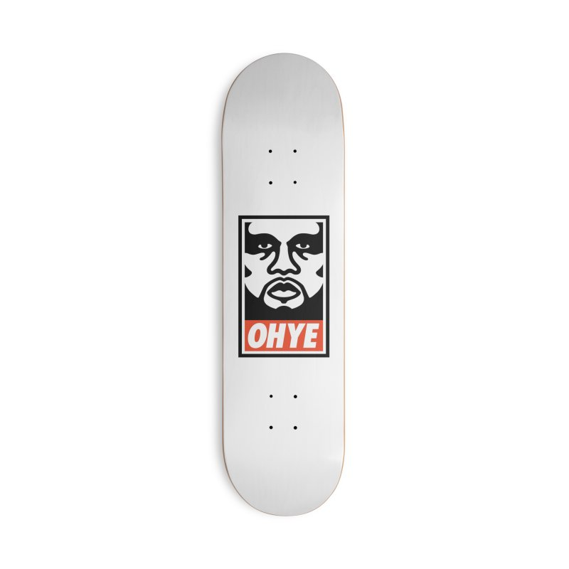 OHYE Accessories Deck Only Skateboard by Avery is Hungry