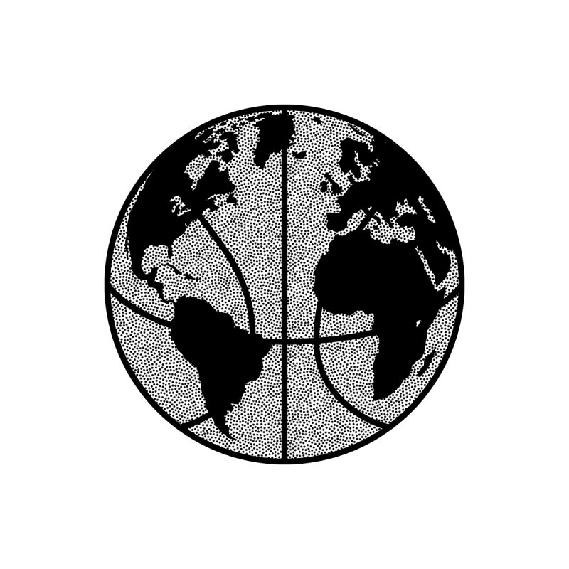 Baller Worldwide Men's T-Shirt by Hungry Design Club