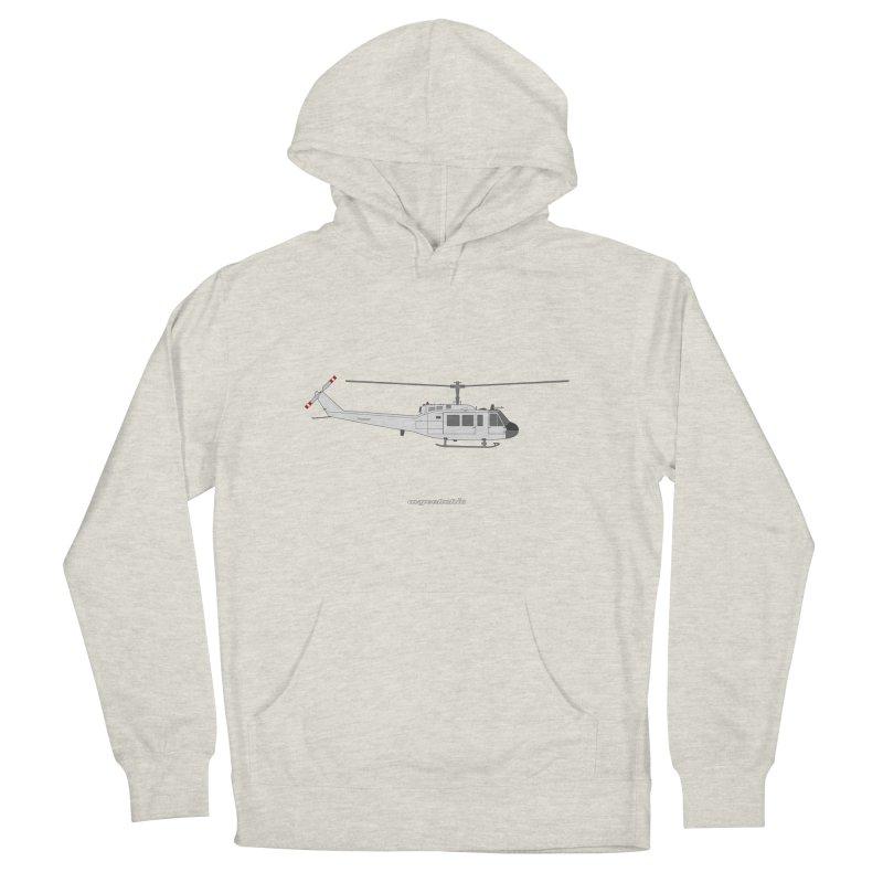 "Bell UH-1H Iroquois ""Huey"" Men's Pullover Hoody by avgeekchic's Artist Shop"
