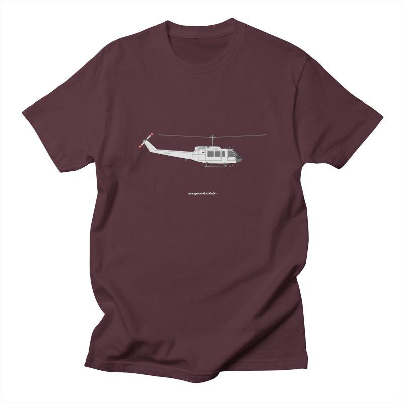 """Bell UH-1H Iroquois """"Huey"""" Men's T-Shirt by avgeekchic's Artist Shop"""