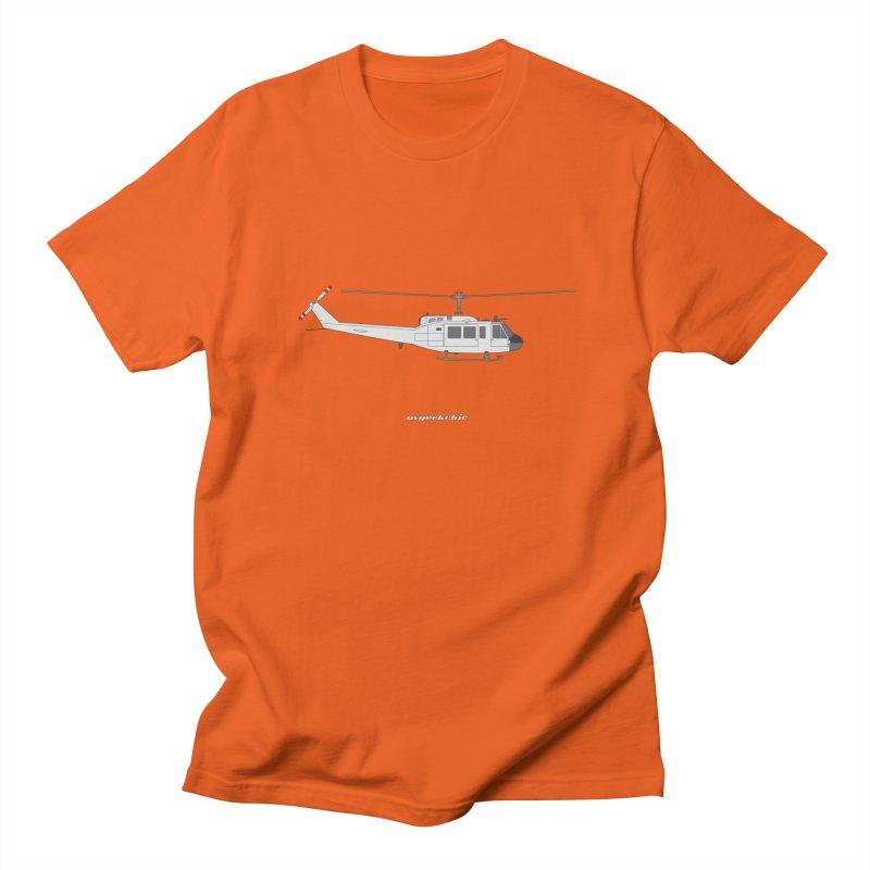 """Bell UH-1H Iroquois """"Huey"""" Men's Regular T-Shirt by avgeekchic's Artist Shop"""