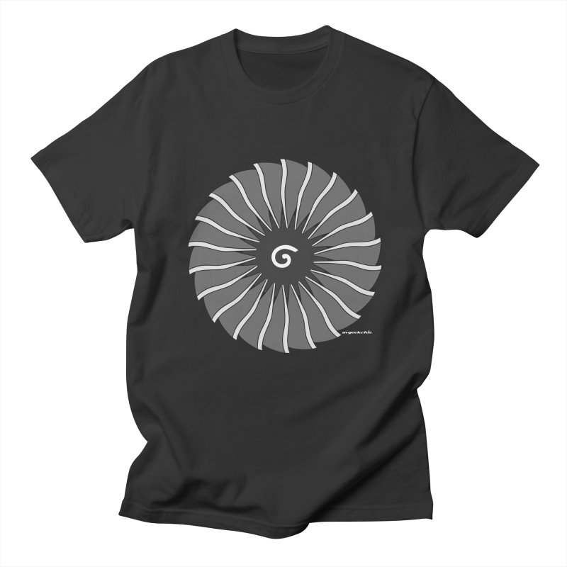 GE90 Fan Disc Men's T-Shirt by avgeekchic's Artist Shop