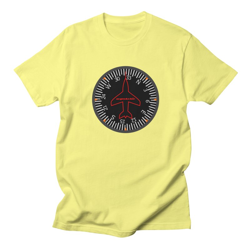 Heading Indicator Men's T-Shirt by avgeekchic's Artist Shop