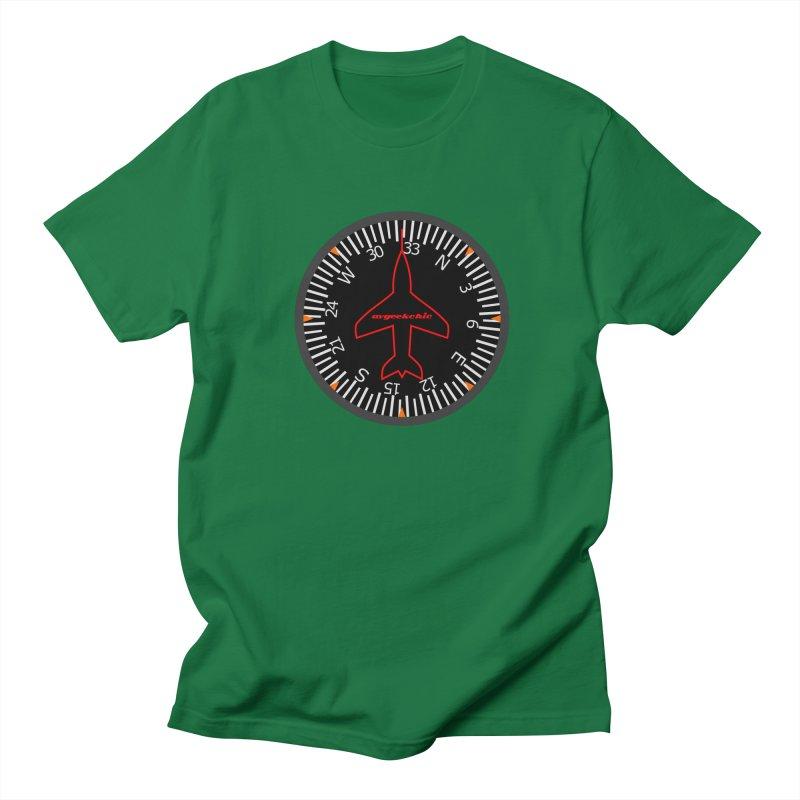 Heading Indicator Men's T-Shirt by avgeekchic's Artist Shop