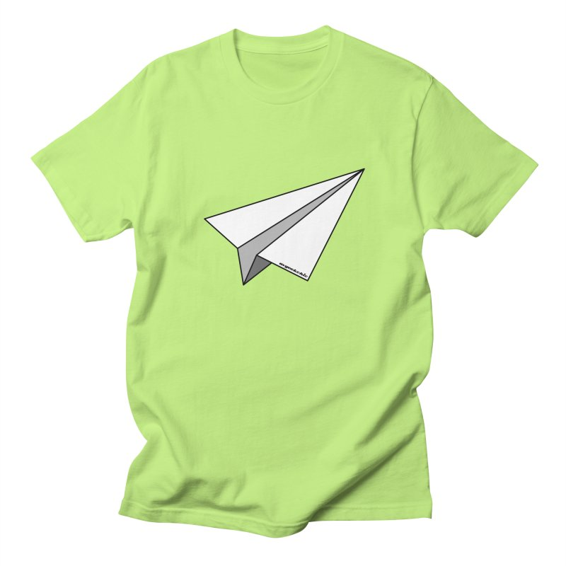 Paper Plane Men's T-Shirt by avgeekchic's Artist Shop