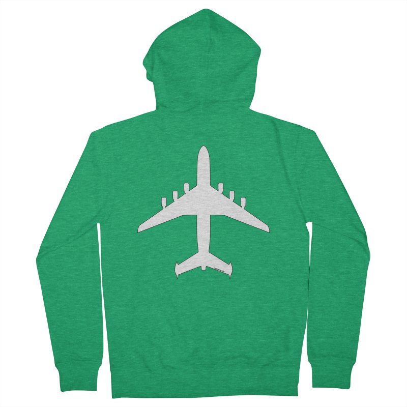 Antonov An-225 Mriya Men's Zip-Up Hoody by avgeekchic's Artist Shop