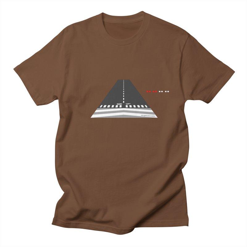 Final Approach with PAPI Men's T-Shirt by avgeekchic's Artist Shop
