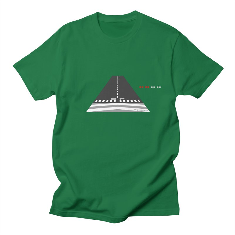 Final Approach with PAPI Men's T-Shirt by avgeekchic's Artist Shop