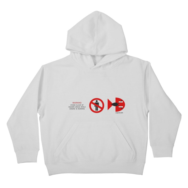 Mind the Engine Kids Pullover Hoody by avgeekchic's Artist Shop