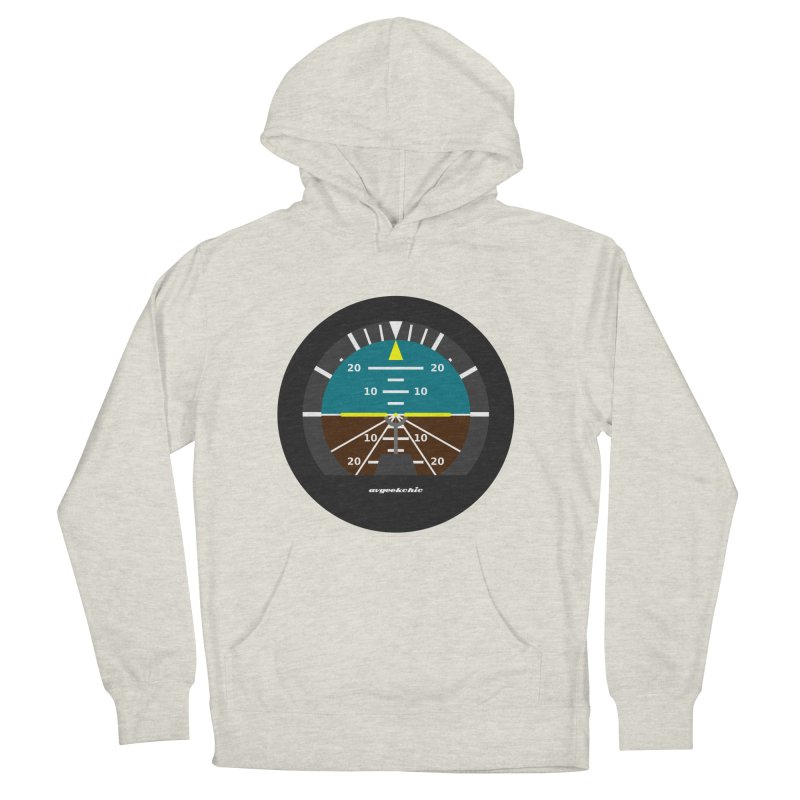 Attitude Indicator Women's French Terry Pullover Hoody by avgeekchic's Artist Shop