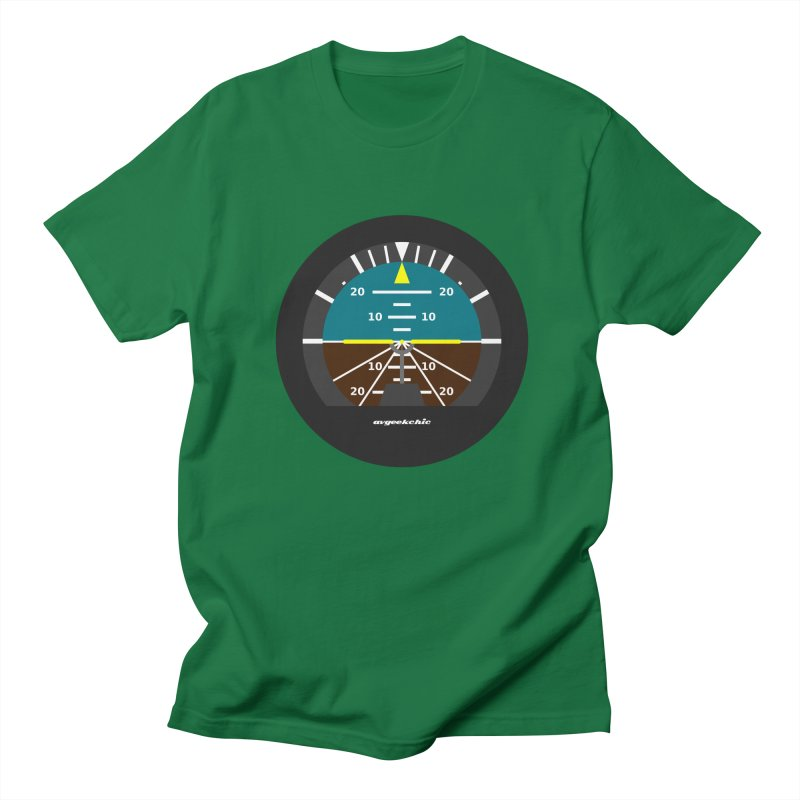 Attitude Indicator Men's T-Shirt by avgeekchic's Artist Shop