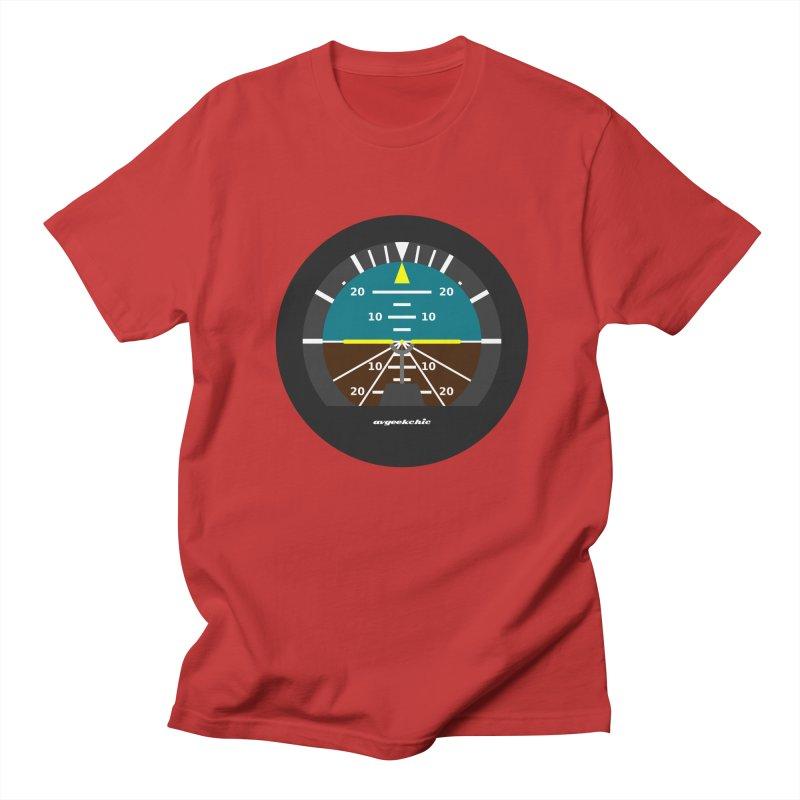 Attitude Indicator Men's Regular T-Shirt by avgeekchic's Artist Shop