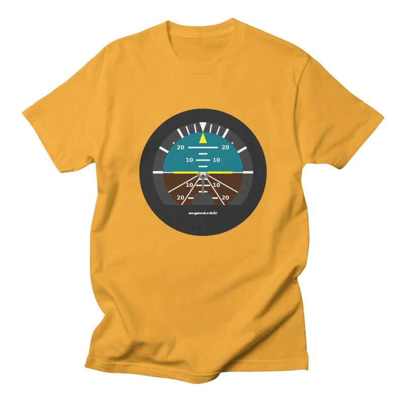 Attitude Indicator Men's T-Shirt by avgeekchic's Artist Shop