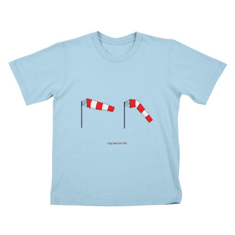 Windsock Kids T-Shirt by avgeekchic's Artist Shop