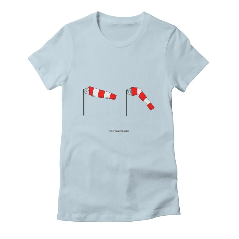Windsock Women's Fitted T-Shirt by avgeekchic's Artist Shop