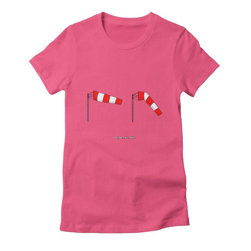 Windsock Women's Fitted T-Shirt by avgeekchic's Artist Shop