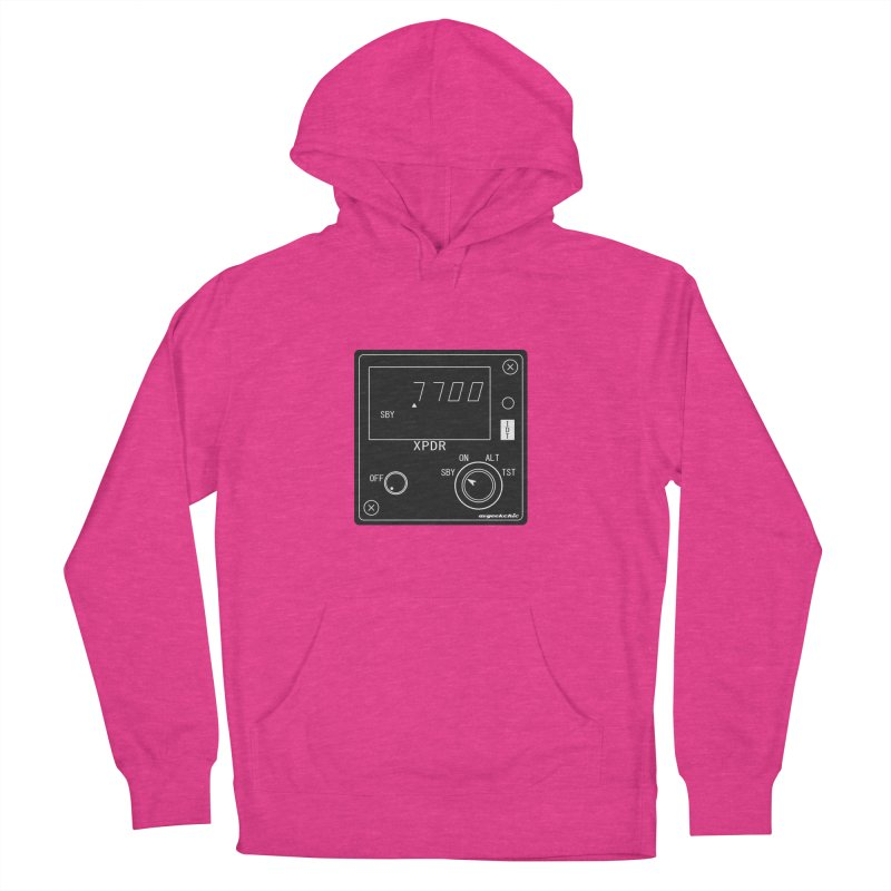 Squawk 7700 Emergency Women's French Terry Pullover Hoody by avgeekchic's Artist Shop