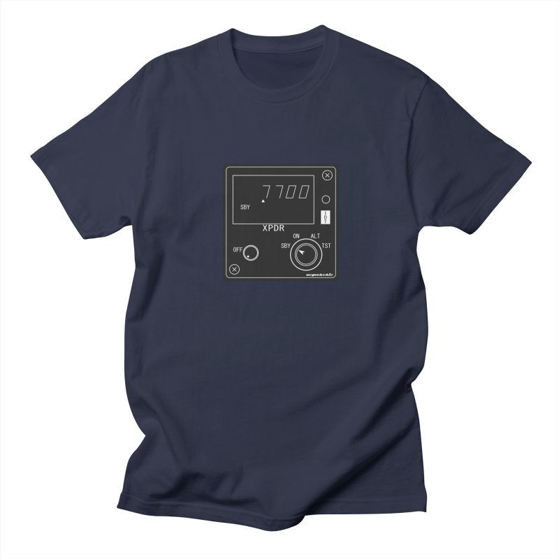 Squawk 7700 Emergency Men's T-Shirt by avgeekchic's Artist Shop