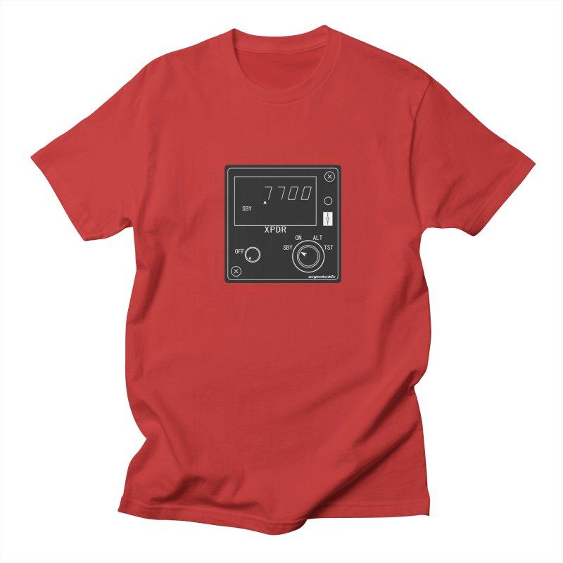Squawk 7700 Emergency Men's Regular T-Shirt by avgeekchic's Artist Shop